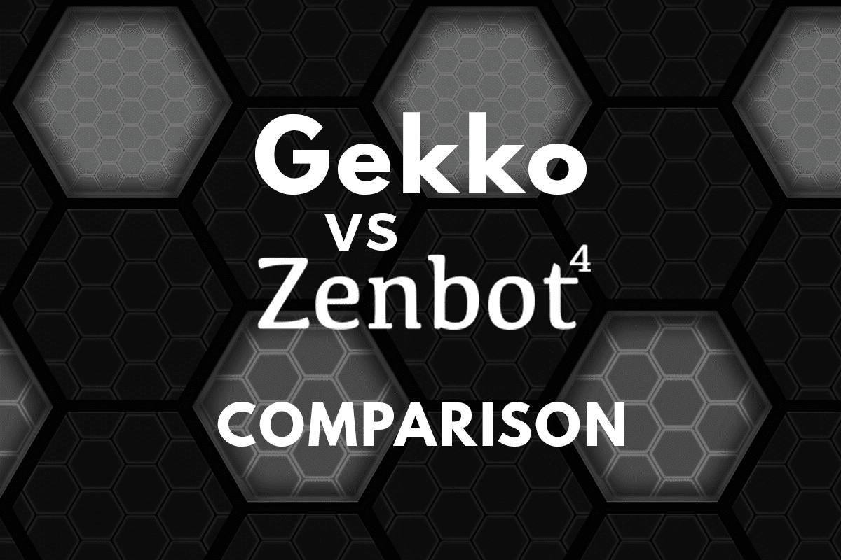 Gekko vs Zenbot : The Most Comprehensive Comparison of 2019